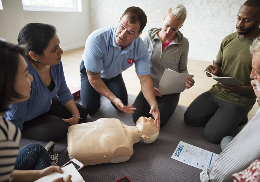 First Aid CPR Training Columbus Ohio